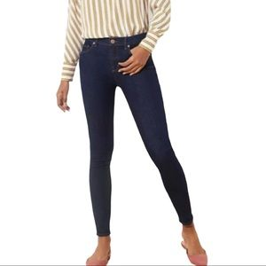 Ann Taylor Loft Dark Wash Modern Skinny Jeans 28/6